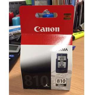 Only 1 set in stock, selling low because printer spoilt. Canon Pixma 810 Black Ink Catridge, 9ml