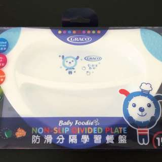 GRACO Non-Slip Divided Plate
