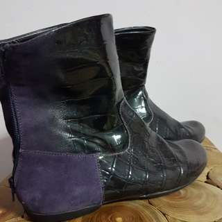 Leather Boots Geox