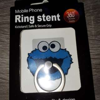 Ring stent cookie monster