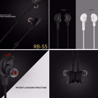 Remax Sports Bluetooth Headset S5 RB-S5
