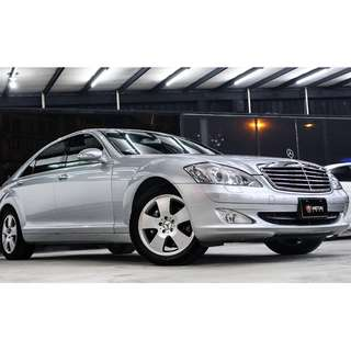 2007 Benz S350 銀色 3.5