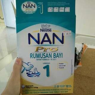 Susu Nan Pro Infant Formula Step 1 350 g