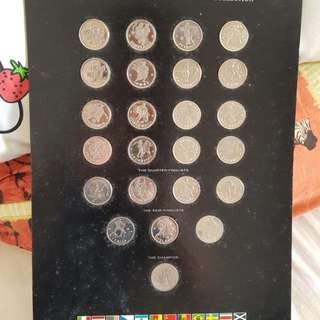 (Limited Edition) Year 1990 World Cup Commemorative Medal Collection