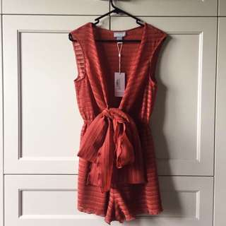 RRP $160 BNWT Finders Keepers Playsuit Size 8