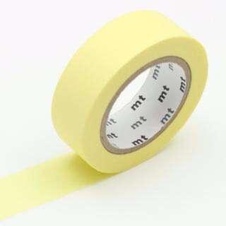 Pastel Yellow MT Washi Tape