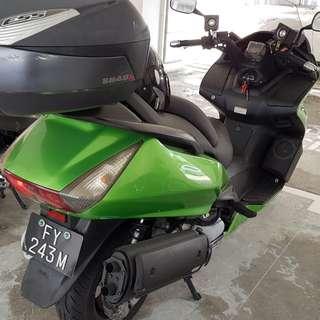 honda 400 cc left 6 years COE