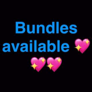 ✨✨Makeup bundles available and more