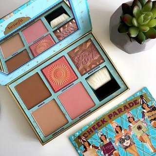 Brand New Benefit Cheek Parade Palette