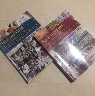 Secondary One and Two History Textbooks, Sold Separately
