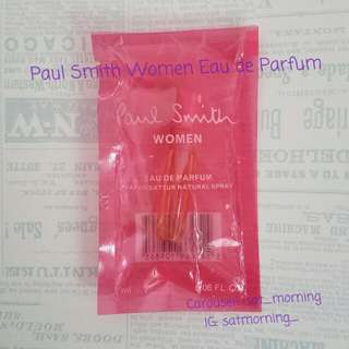 【$20包郵】Paul Smith Women Eau de Parfum 2ml 全新正版