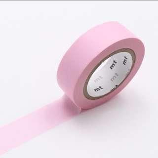 Pastel Pink MT Washi Tape