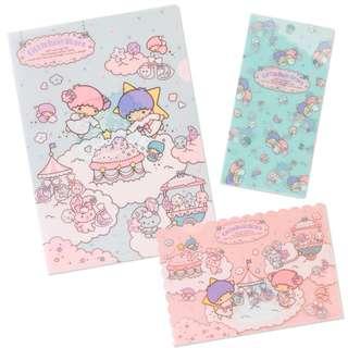 日本 Sanrio 直送 Little Twin Stars File Set