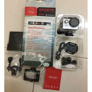 Full HD and Waterproof Sport Camera