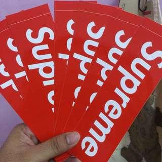 Supreme Sticker Original