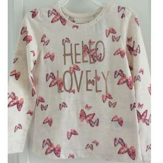 Brand new* Hello Lovely Girl's Tee 4-5 yrs old