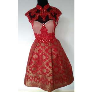 Beautiful Red Party Dress