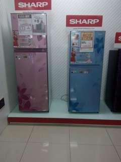 Kulkas sharp bisa di cicil tanpa kartu kredit