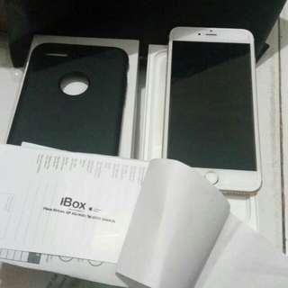 iPhone 6+ 16gb (gold ) masih garansi