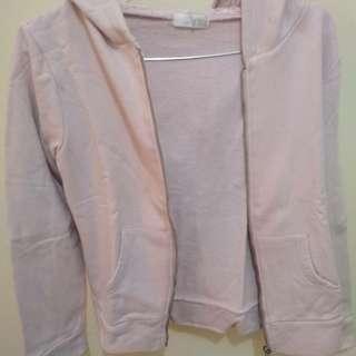 Jaket pink muda