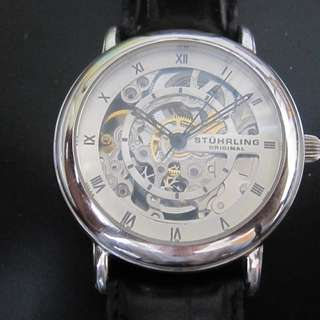 Stuhrling original watch 透視自動錶