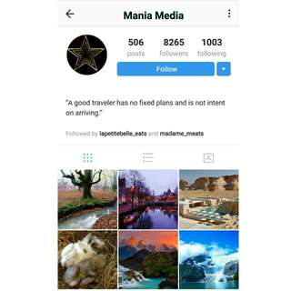 8k Travel Instagram Account