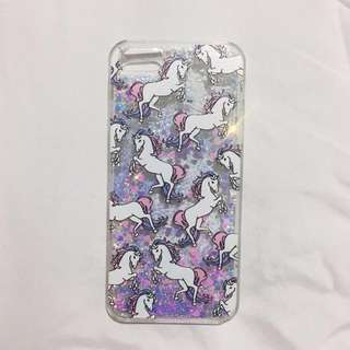 IPHONE 5/5s/SE Unicorn glitter case