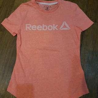 kaos olahraga reebox orange sz xs