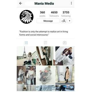 Women Fashion Instagram Account