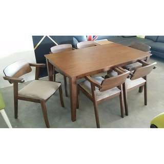 HANA OAK DINING SET