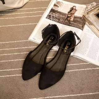 Women flat pointed shoe