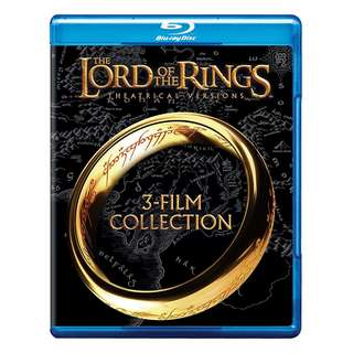 🆕 The Lord of the Rings: The Theatrical Trilogy Blu-ray