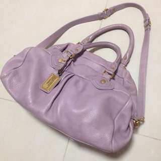 Marc Jacob 紫色靚手袋