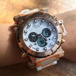 🚚 Authentic New SWOLE 43mm watch