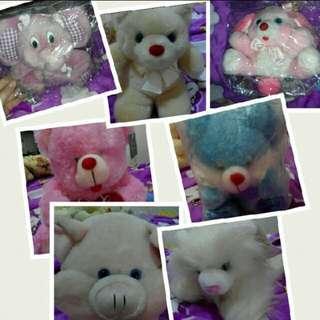 (BNEW) 7pcs Stuffed Toys