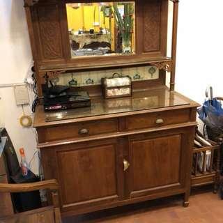 Antique kitchen cabinet