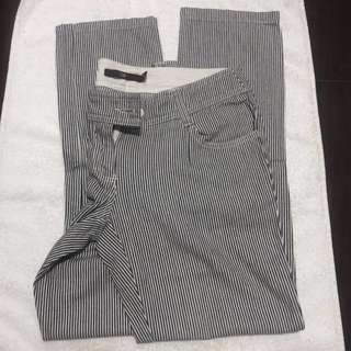 Xmas Sale! G2000 Pinstriped Cropped Denim