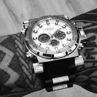 Brand new Authentic Swole watch 43mm