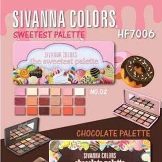 SIVANNA COLOURS the sweetest palette