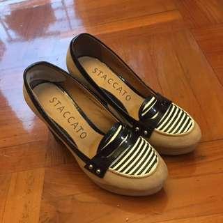 (大平賣好新淨)STACCATO高踭鞋