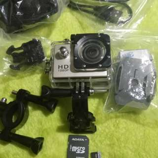 Go pro 1080 HD with free 16g SD card