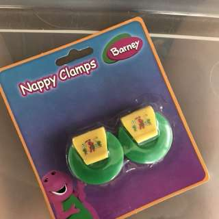 Nappy Clamps