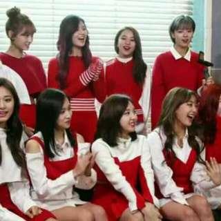 Twice同款TT紅白打歌服套裝