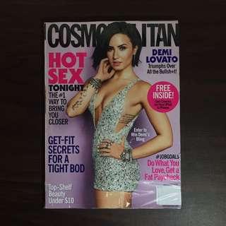 Demi Lovato Cosmopolitan Sep 2015