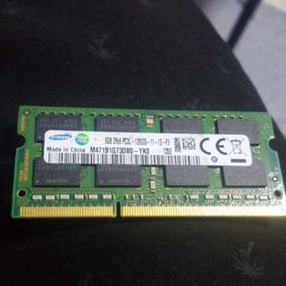 Laptop or macbook DDR3 8gb ram