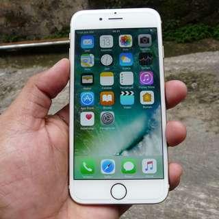 """iPhone 6 32GB Gold """" Garansi resmi iBox """" baru 2 Bulan"""