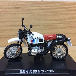 BMW R 80 G/S -1987重機模型