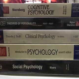 Psychology college books