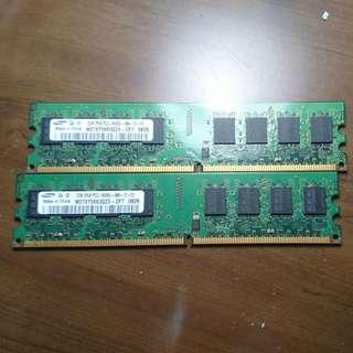 Samsung 2GB DDR2 X2