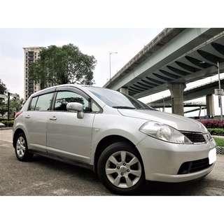 Nissan Tida 1.6 一手女用車 安全氣囊 多功能方向盤 恆溫 ALTIS CIVIC 超低月付款強力過件
